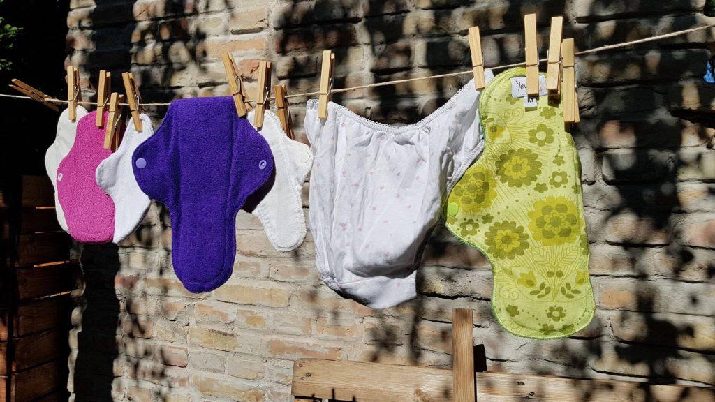 mosható menstruációs betét mosás