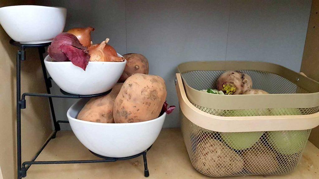 batata édesburgonya zöldség tárolás