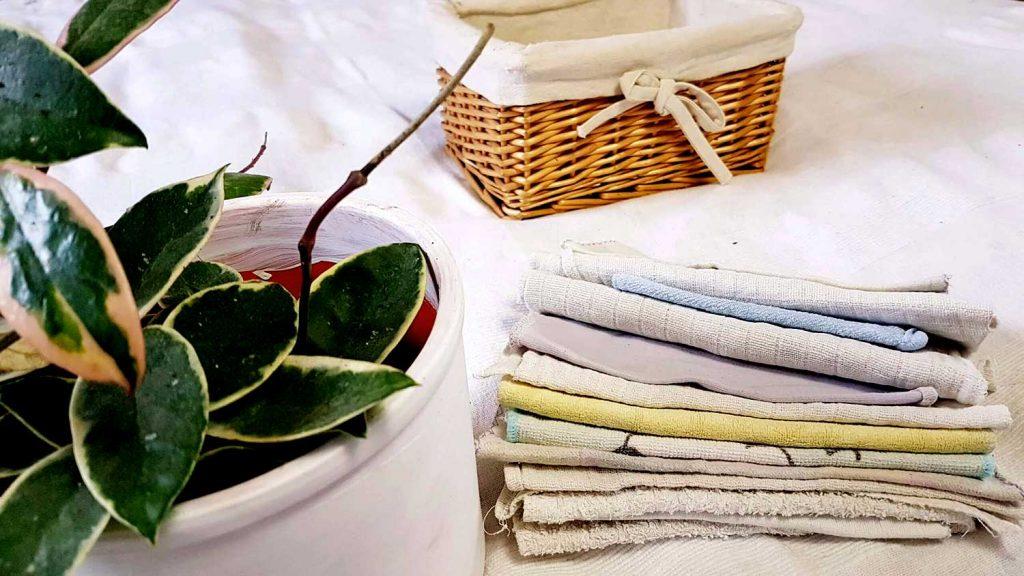 textil zsebkendő használat