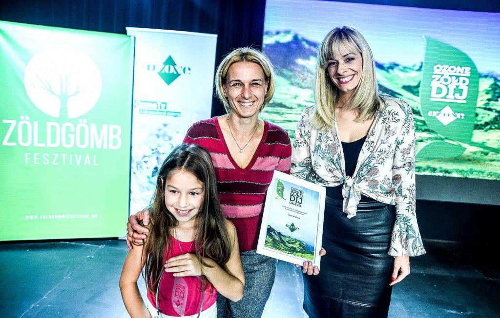ozone zöld díj - hulladékmentes életmód