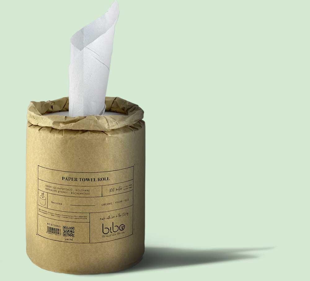 BIBO papír konyhai törlőkendő